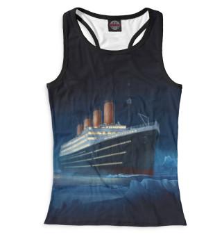 Майка борцовка женская Титаник