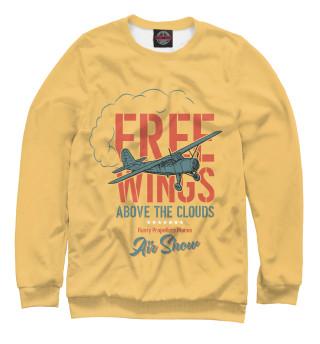 Одежда с принтом Free Wings