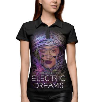 Поло женское Philip K. Dick's Electric Dreams (690)