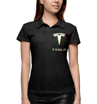 Поло женское Tesla (1405)