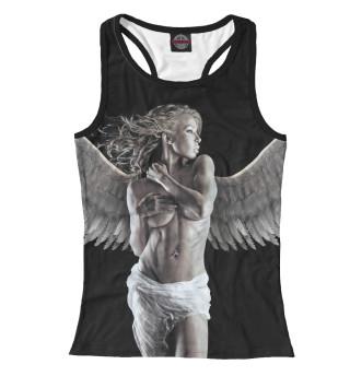 Майка борцовка женская Девушка - ангел