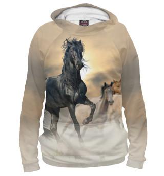Худи женское Чётный конь
