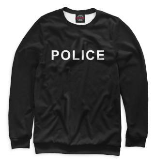 Одежда с принтом Police