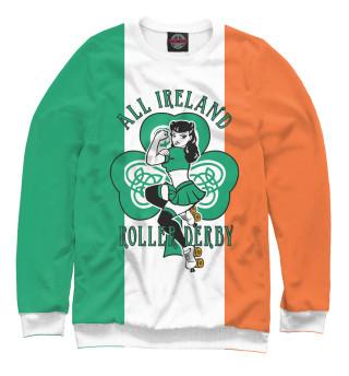 Одежда с принтом Ирландия, Roller Derby
