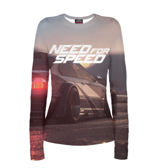 Лонгслив  женский Need For Speed