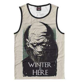 Майка мужская Winter Is Here