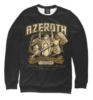 Одежда с принтом Азерот
