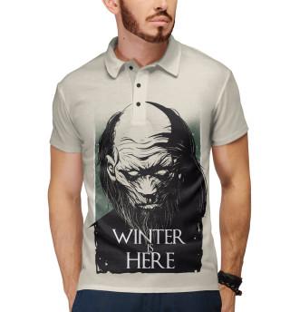 Поло мужское Winter Is Here