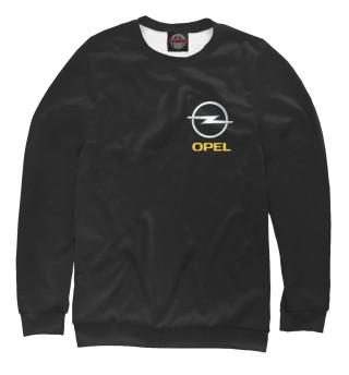 Одежда с принтом Opel (700076)