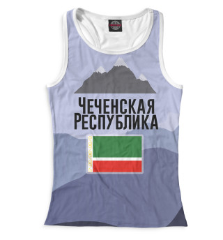 Майка борцовка женская Чечня (164)
