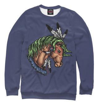 Одежда с принтом Лошадь (872044)