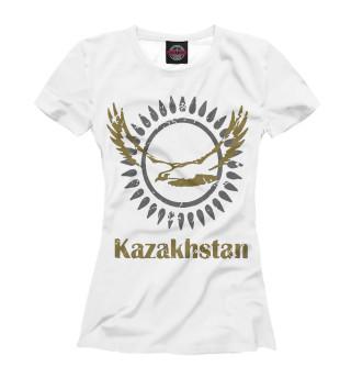 Футболка женская Солнечный Казахстан