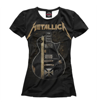 Футболка женская Metallica (5193)