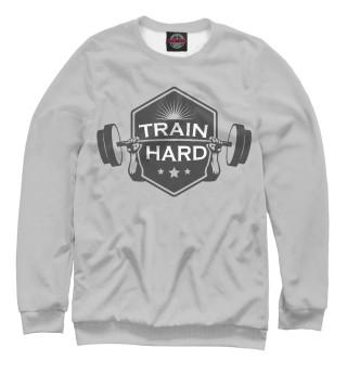 Одежда с принтом Train hard (703386)