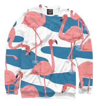 Одежда с принтом Фламинго (449041)