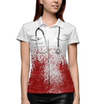 Поло женское bloody doctor