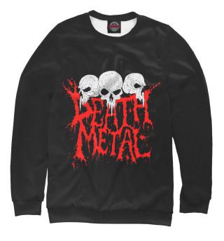 Свитшот  женский Death Metal (7057)