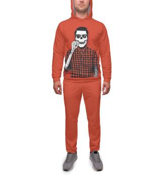 Спортивный костюм  мужской Скелет