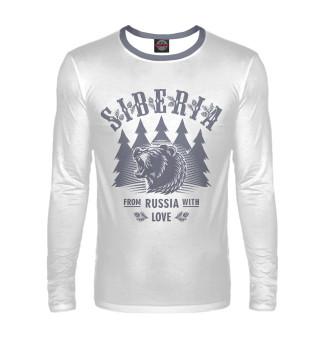 Лонгслив  мужской Русский Медведь (3527)