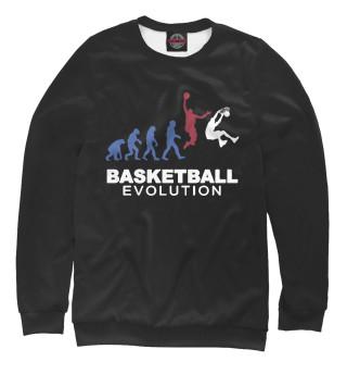 Одежда с принтом Эволюция баскетбола