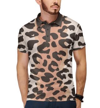 Поло мужское Леопард (6712)