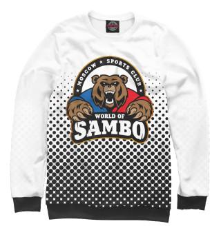 Одежда с принтом World of Sambо