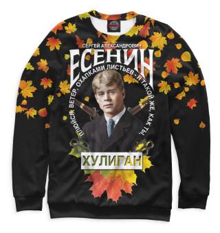 Одежда с принтом Сергей Есенин (901748)