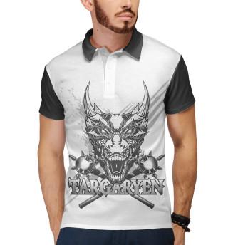 Поло мужское Game of Thrones targaryen