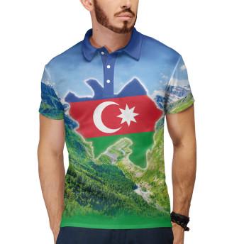 Поло мужское Горы Азербайджана