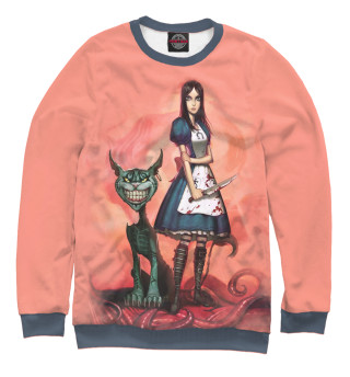Одежда с принтом Алиса и котяра