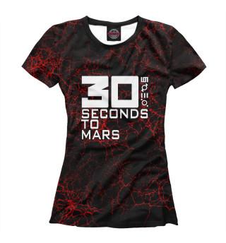 Футболка женская 30 Seconds to Mars