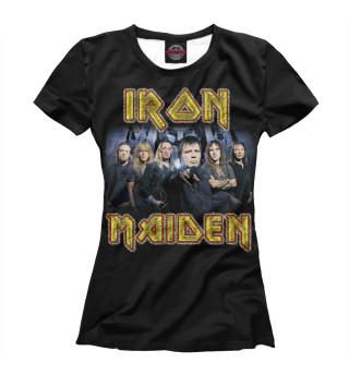 Футболка женская Iron Maiden (3727)