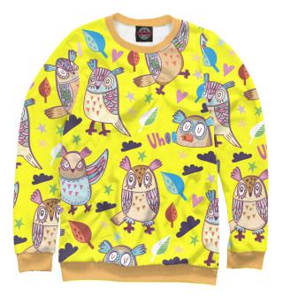 Одежда с принтом Попугайчики!