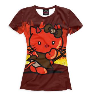 Футболка женская Hello Kitty (2899)