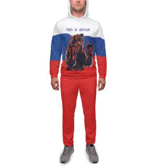 Спортивный костюм  мужской Медведь-боксер
