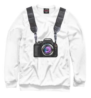 Одежда с принтом Фотоаппарат всегда со мной