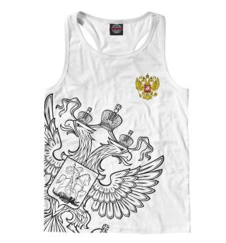 Майка борцовка мужская Герб России (7182)