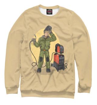 Одежда с принтом Сварщик (201246)
