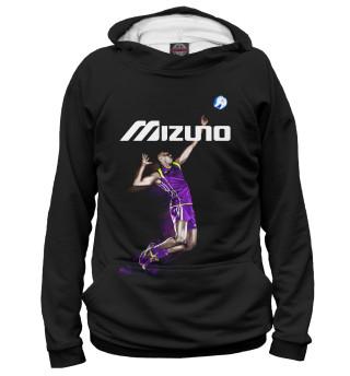 Худи мужское Volleyball (Mizuno) (8889)