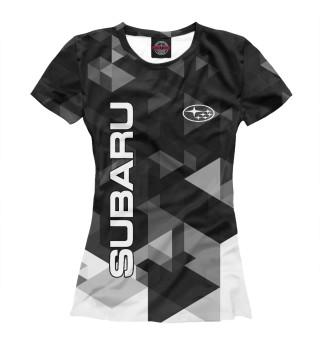 Футболка женская SUBARU (4402)
