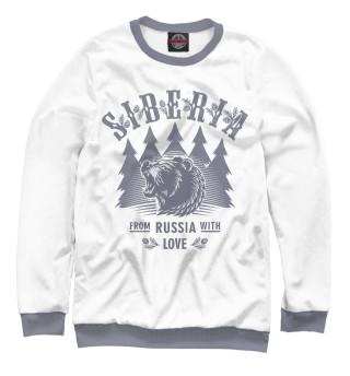 Одежда с принтом Русский Медведь (139417)