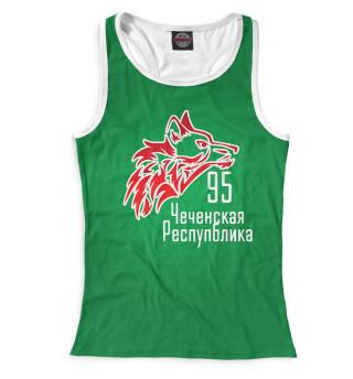 Майка борцовка женская Чечня (3729)