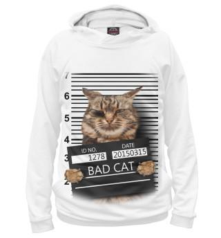 Худи женское Плохой кот