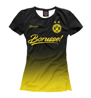 Футболка женская Боруссия Дортмунд (5719)