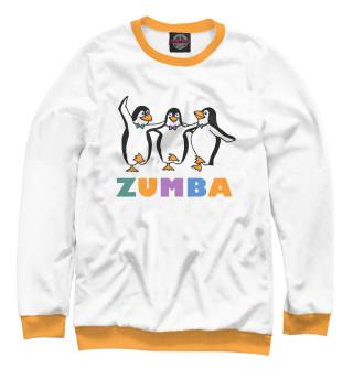 Одежда с принтом Зумба с пингвинами