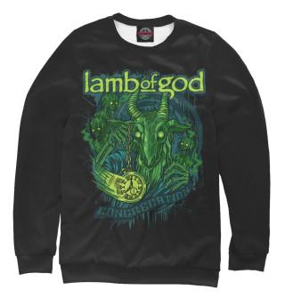 Одежда с принтом Lamb of God (663246)