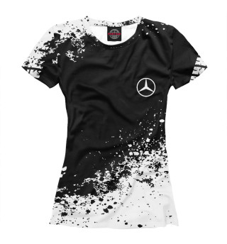 Футболка женская Mercedes-Benz abstract sport uniform