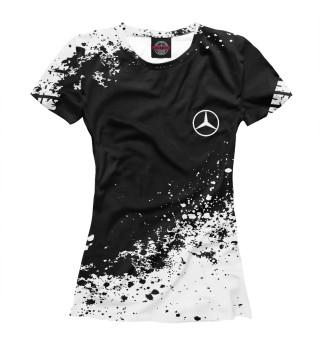 Футболка женская Mercedes-Benz abstract sport uniform
