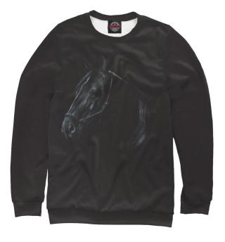 Одежда с принтом Black Horse