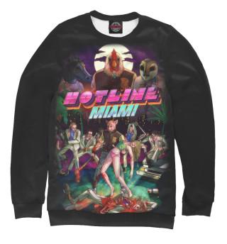 Одежда с принтом Hotline Miami (961407)